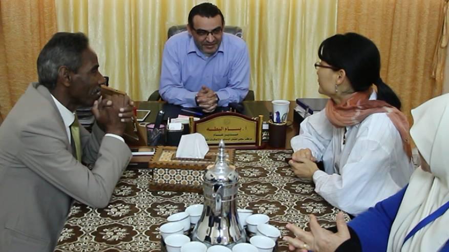 جمعية مبرة فلسطين تستقبل وفداً من اللجنة الدولية للصليب الأحمر