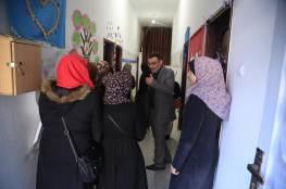 طالبات متدربات في زيارة لمركز سجى