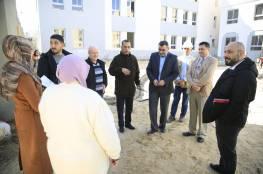 وفد طبي قطري في زيارة لمركز سجى