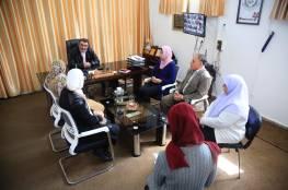 """جمعية """" الحق في الحياة"""" في زيارة لمركز سجى"""