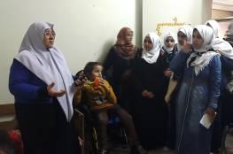 جمعية مبرة فلسطين للرعاية تستقبل وفداً من مدرسة عرفات الثانوية للموهوبين