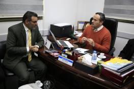 إدارة جمعية مبرة فلسطين في زيارة للكلية الجامعية