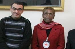 """وفد رفيع المستوى من الصليب الأحمر الدولي يزور """" مبرة فلسطين """""""