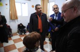 مدير مكتب وزير التنمية الإجتماعية في زيارة لمركز سجى