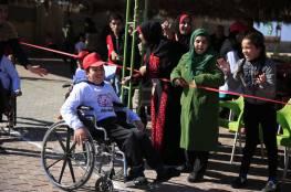 """مشاركة جمعية مبرة فلسطين للرعاية في""""الأولمبياد الخاص الفلسطيني"""""""