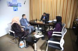 الجمعية الوطنية الفلسطينية لرعاية مرضى السرطان في زيارة لمركز سجى