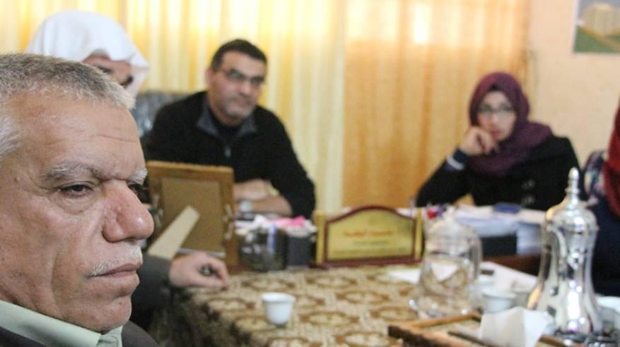 مبرة فلسطين تستقبل وفداً من وكالة الغوث