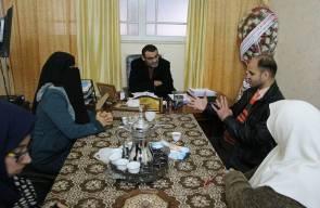 بالصور: زيارة وفد من جمعية أصدقاء مرضى الكلى لجمعية مبرة فلسطين