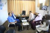 د.غازي حمد في زيارة لمركز سجى