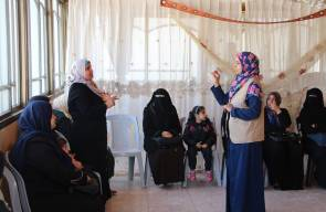 بالصور : مدرسة سجى تشارك في تنفيذ حملة رفع مستوى الوعي الغذائي
